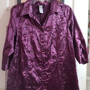 Tops - Purple blouse